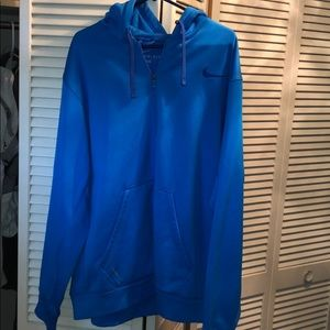 Nike thermafit hoodie jacket men's XXL large dry